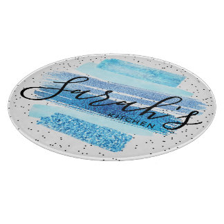 Glitter Glam Cutting Board