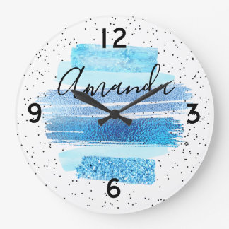 Glitter Glam Large Clock