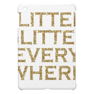 Glitter glitter every where iPad mini cases