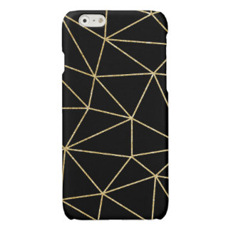 GLITTER GOLD LINES I-PHONECASE