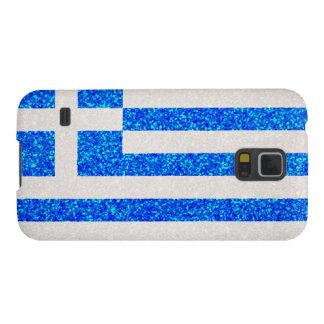 Glitter Greece flag Samsung GalaxyS5 case