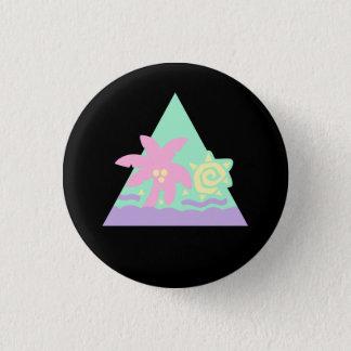 Glitter Hair Flair Badge [Pastel] 1 Inch Round Button