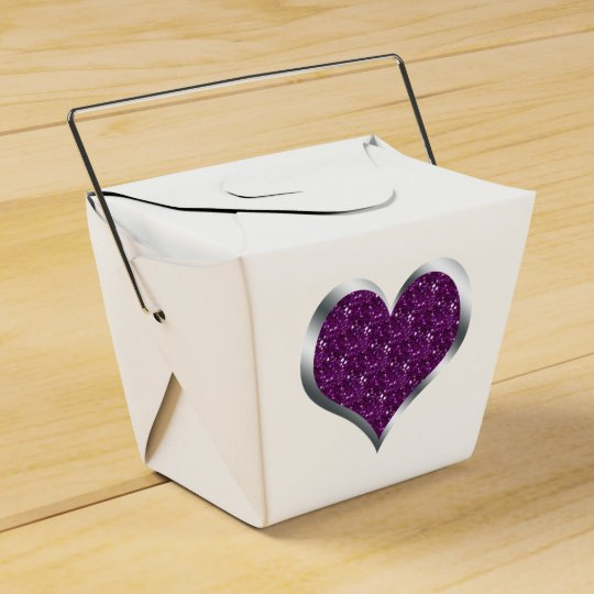 Glitter Heart Wedding Favour Christmas Gift Box Party Favor Boxes
