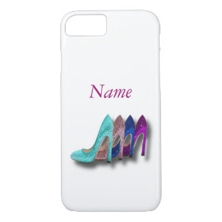 Glitter High Heel Shoes Fashion iPhone 7 case