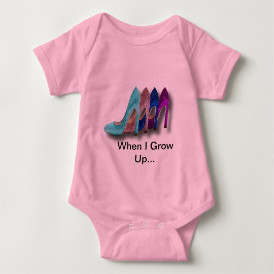Glitter High Heel Shoes Fashion Shirts