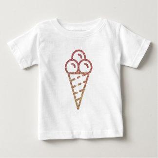 Glitter Ice Cream2 Baby T-Shirt