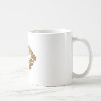 Glitter Kiss Lipstick Love Coffee Mug