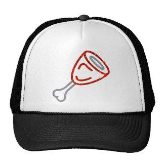 Glitter Leg of Meat Trucker Hat