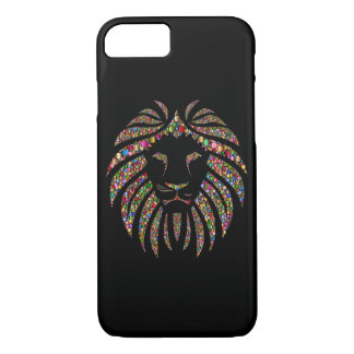 Glitter Lion iPhone 8/7 Case