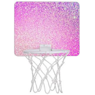 Glitter Luxury Shiny Mini Basketball Hoop
