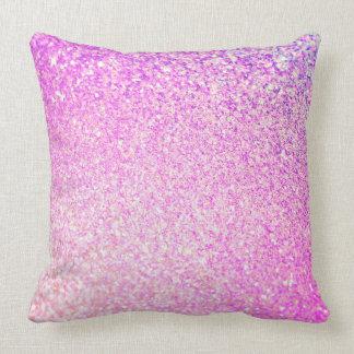 Glitter Luxury Shiny Throw Pillow