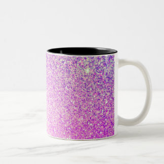 Glitter Luxury Shiny Two-Tone Coffee Mug