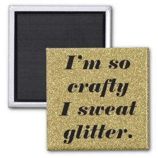 Glitter magnet