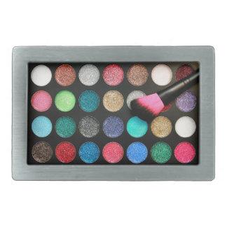 Glitter Makeup Belt Buckle