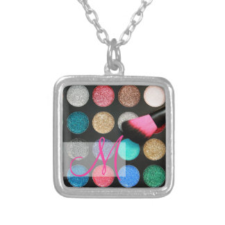 Glitter Makeup Necklace