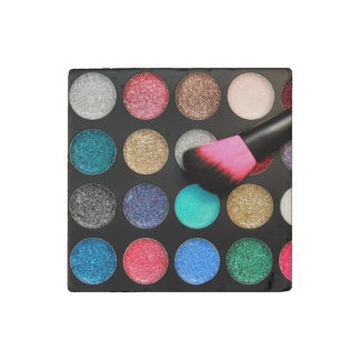 Glitter Makeup Stone Magnet Stone Magnets