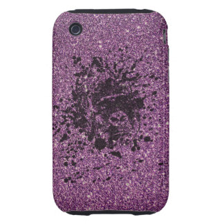 Glitter Monkey iPhone 3 Tough Cases