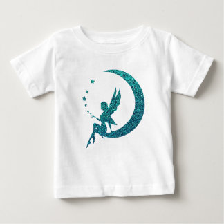 Glitter Moon Fairy Baby T-Shirt