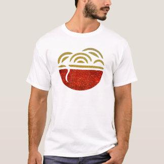 Glitter Noodle Bowl T-Shirt