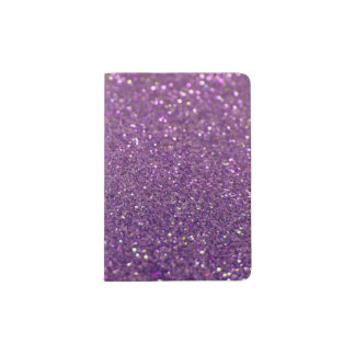 Glitter Passport Holder