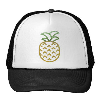 Glitter Pineapple Products Trucker Hat