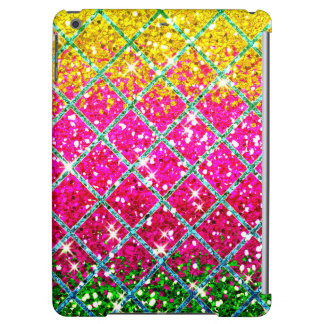 Glitter Pink Snakeskin iPad Air Cover