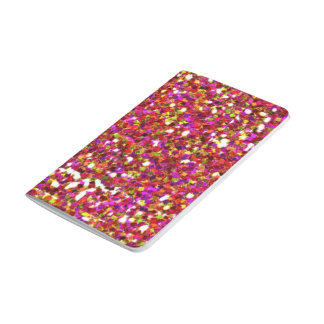 Glitter pocket journal