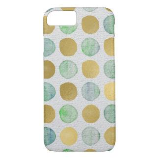 Glitter Polka Dot Pattern iPhone 8/7 Case