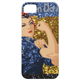 glitter rosie the riveter case for the iPhone 5