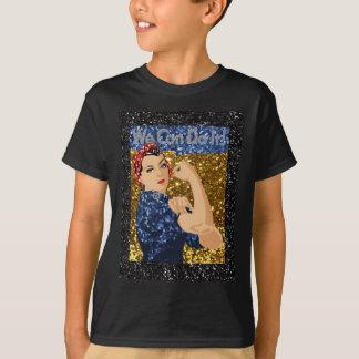 glitter rosie the riveter T-Shirt