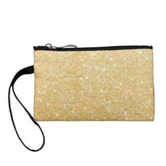 Glitter Shiny Luxury Golden Coin Wallets