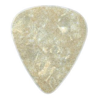 Glitter Shiny Luxury Golden Pearl Celluloid Guitar Pick