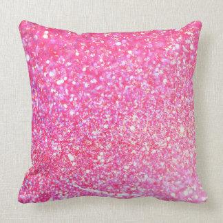 Glitter Shiny Luxury Throw Pillow