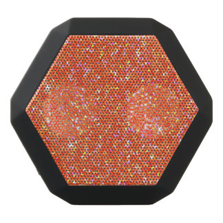 Glitter Shiny Sparkley Black Bluetooth Speaker