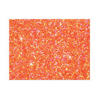 Glitter Shiny Sparkley Canvas Print