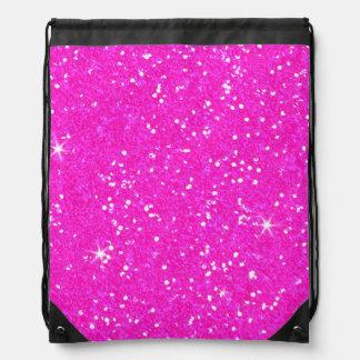Glitter Shiny Sparkley Drawstring Bag