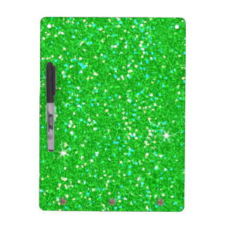 Glitter Shiny Sparkley Dry Erase Board