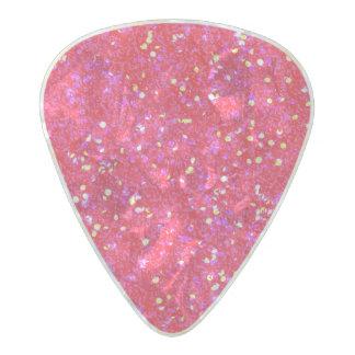 Glitter Shiny Sparkley Pearl Celluloid Guitar Pick