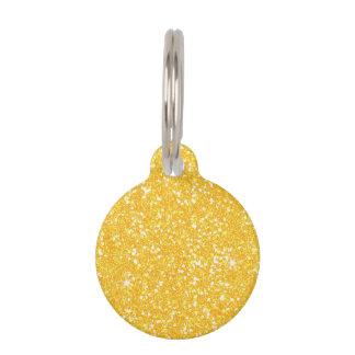 Glitter Shiny Sparkley Pet ID Tag