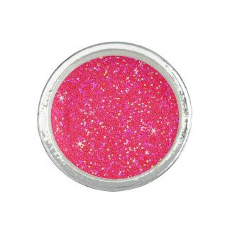 Glitter Shiny Sparkley Photo Ring