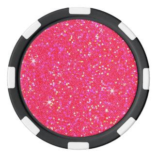 Glitter Shiny Sparkley Poker Chips