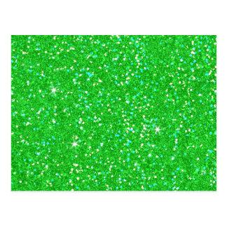 Glitter Shiny Sparkley Postcard