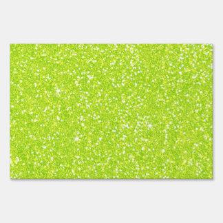 Glitter Shiny Sparkley Sign