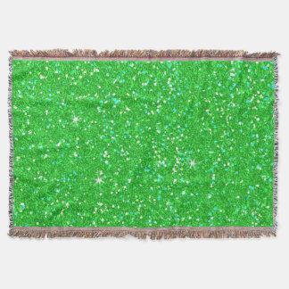 Glitter Shiny Sparkley Throw Blanket