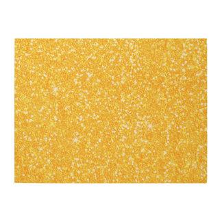 Glitter Shiny Sparkley Wood Print