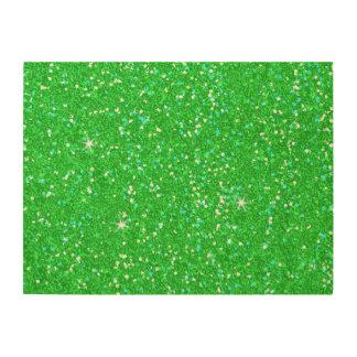 Glitter Shiny Sparkley Wood Wall Art