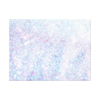 Glitter Sparkley Diamond Canvas Print