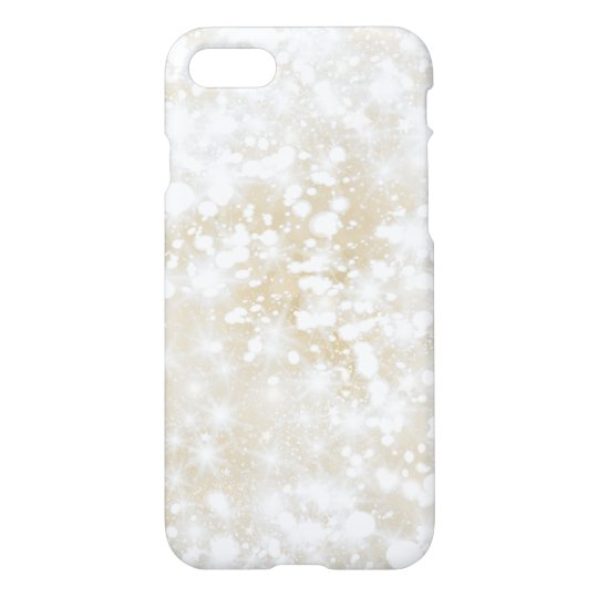 Glitter Sparkly Gold iPhone 7 Case