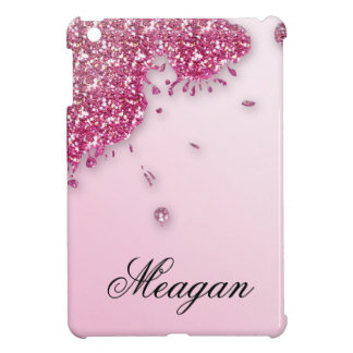 Glitter Splash iPad Cover PInk iPad Mini Cover
