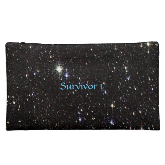 Glitter Star Survivor Bag Cosmetic Bag